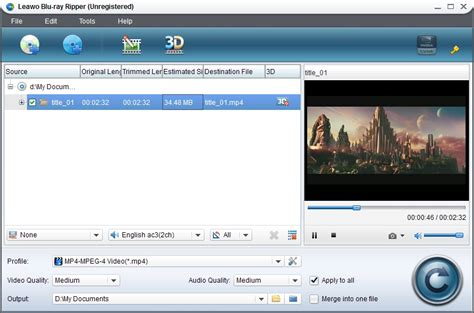 format dvd bluray leawo blu ray ripper is recommended to convert bd movies