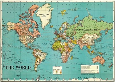 standard map 37 eye catching world map posters you should hang on your