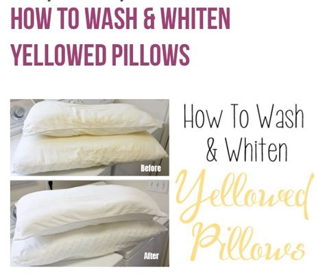 how to clean bed pillows 28 images how to wash and quot how to wash whiten pillows quot musely