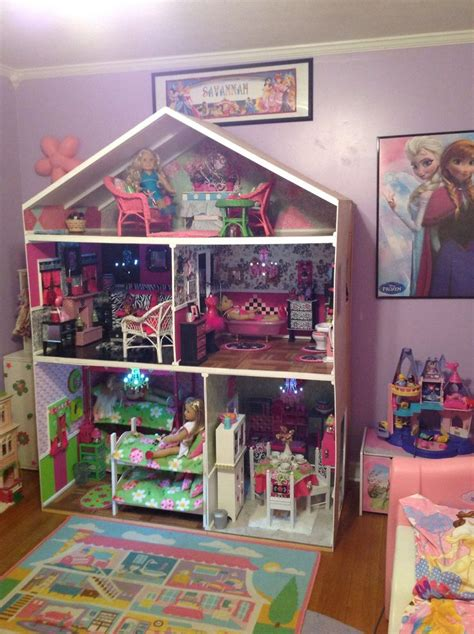 my girl doll house my american girl dollhouse is finished my american girl dollhouse