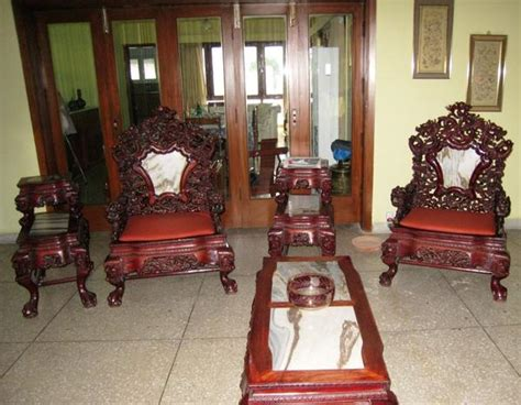 Living Room Chair Singapore Made Vintage Antique Wood Furniture