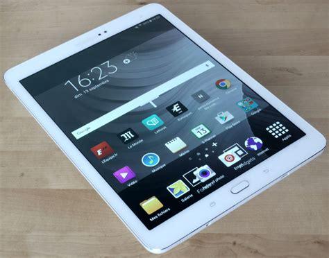 Samsung Tab S2 10 test la samsung galaxy tab s2 9 7 place la barre tr 232 s haut maj tablette android