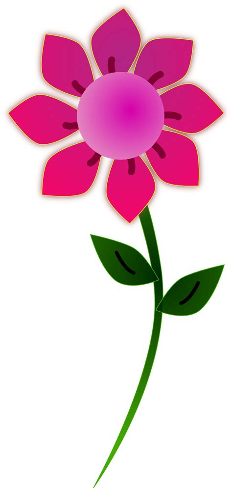free flower clipart pink flower clip clipart panda free clipart images