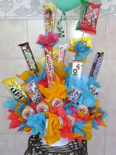 you tube como hacer arreglos con dulces y globos como hacer arreglos con dulces imagui