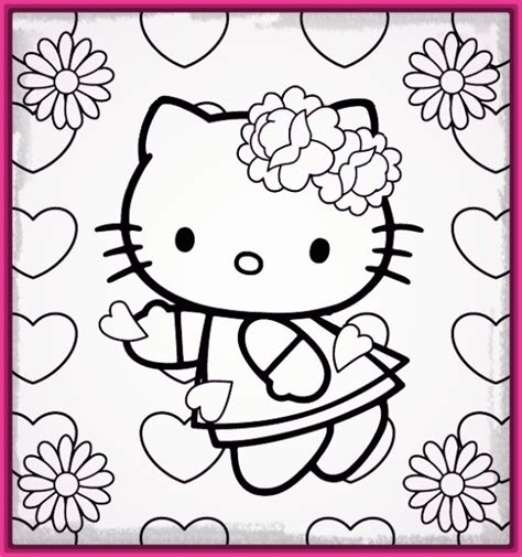 imagenes kitty para imprimir dibujo kitty para colorear e imprimir para entretenerte