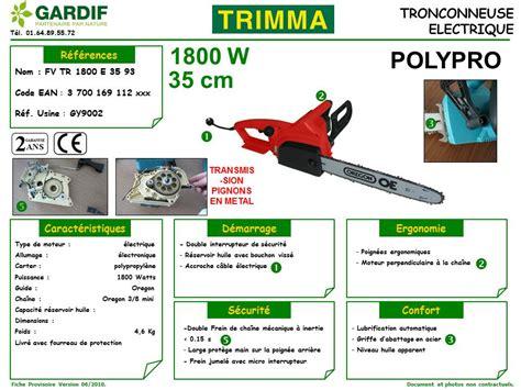 Tronconneuse Electrique 162 by Gardif