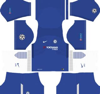 chelsea kit dls 2017 chelsea f c nike ucl kits 2017 2018 dream league soccer