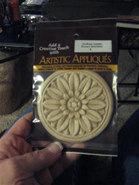 appliques michaels christy s thrifty decorating decorating with wood appliques
