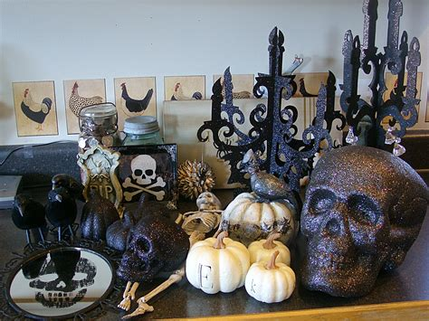 Kitchen Cabinet Decorations Top decorating the cabinets for halloween organize and