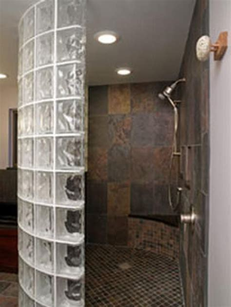 Bathroom Glass Wall Cost 9 Best Images About Cinder Block Walls On