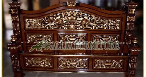 Tempat Tidur Kayu No 1 tempat tidur ukiran jati rahwana ratu allia furniture