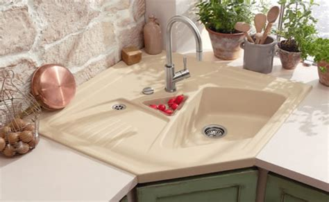 cool corner kitchen sink designs home design lover