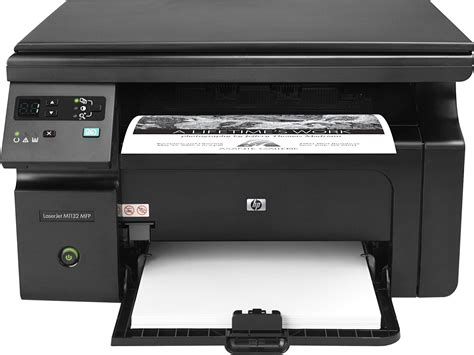 Printer Hp Laserjet hp laserjet pro m1132 multifunction printer driver free