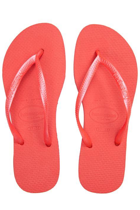 Flip Flops havaianas slim guava flip flops 365ist