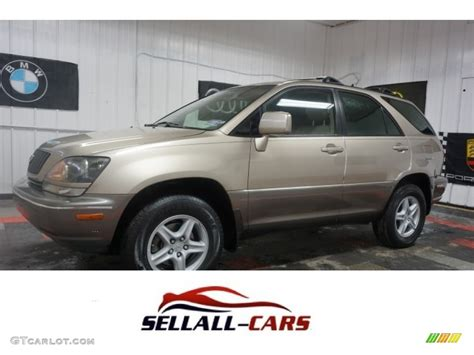 lexus gold 1999 burnished gold metallic lexus rx 300 awd 115067420