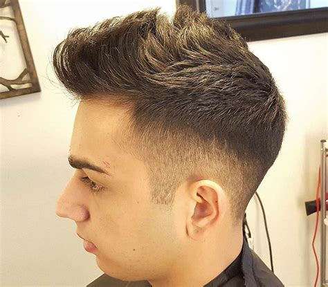 stylish spiked taper haircuts for men step by step 18 taper fade haircut ideas designs design trends