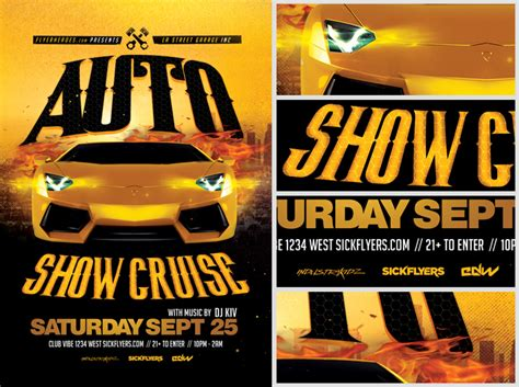 car show flyer template car show flyer www pixshark images galleries with a bite