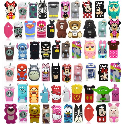 Samsung S7 Silikon Sulley Cover Silikon 3d silicone phone cover for samsung galaxy j5 j7 2015 s7 edge htc ebay