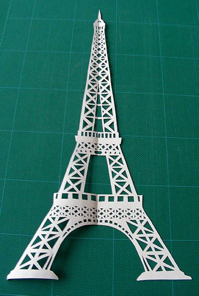 How To Make A Paper Eiffel Tower - boxing day madness kirigami how to craft ideas from