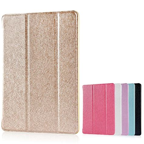 Ultra Thin 3 Fold Leather Pro 9 7 Casing Cover Hardcase ultra slim tri fold pu leather with back