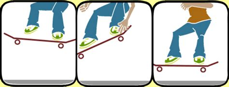 how to get comfortable on a skateboard learn how to ollie skateboard trick tips skateboarding