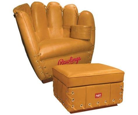baseball glove couch rawlings baseball glove chair american luxury