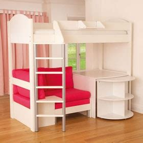 loft bed with desk and couch bunk bed models bunk beds with desk foofiemom