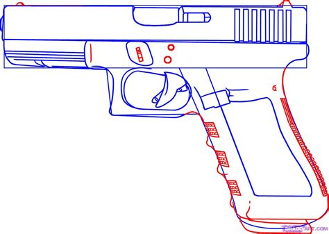 how to draw doodle guns how to draw a gun step by step guns weapons free