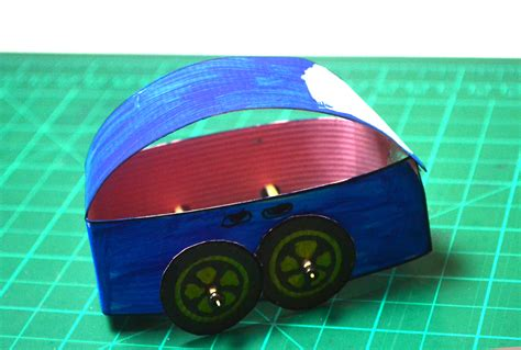 How To Make A Car Using Paper - how to make a paper car with pictures wikihow