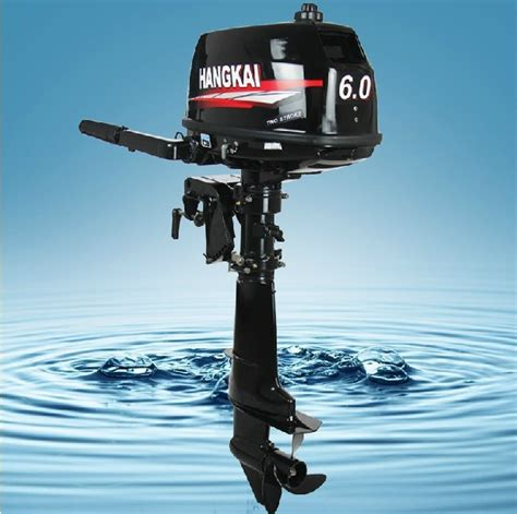 fishing boat engine hangkai 6hp 2 stroke fishing boat outboard engines