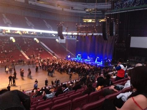rogers arena section 105 rogers arena section 106 concert seating rateyourseats com