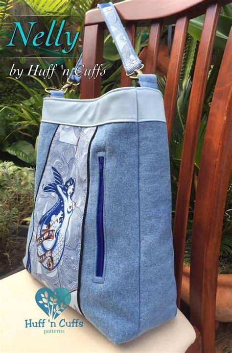 tote bag pattern australia nelly tote bag huff n cuffs patterns