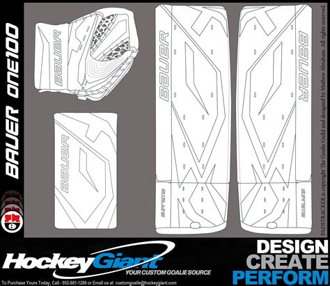 bauer goalie mask template new calendar template site