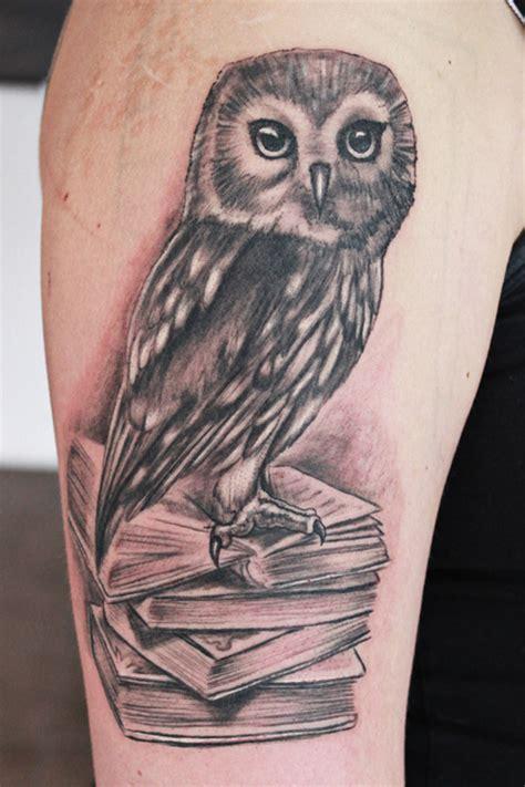 tattoo owl books 40 excellent owl tattoo ideas creativefan