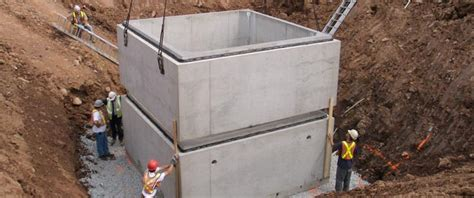 concrete chamber sections lifts