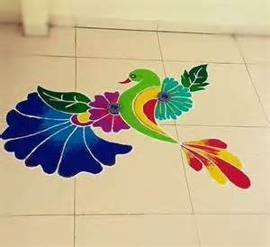 Waterfall Decoration For Homes welcome 2017 with new year rangoli designs