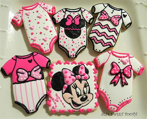 Minnie Mouse Baby Shower by Minnie Mouse Baby Shower Cookies Cakecentral