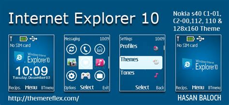 how to download themes for nokia c1 01 microsoft internet explorer 10 theme for nokia c1 01 c1
