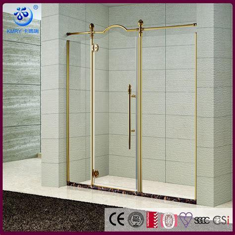 Frameless Shower Door Manufacturers The Best Custom Semi Frameless Alcove Pivot Shower Enclosure Custom Floating Glass Classcial