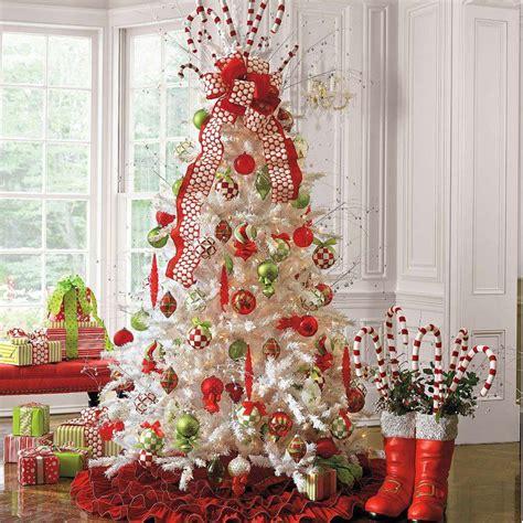 image de no235l decoration sapin de noel et blanc