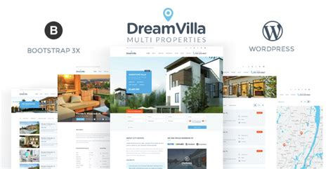themeforest real estate themeforest dreamvilla real estate wordpress theme