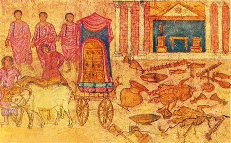 temple of dagon philistine captivity of the ark