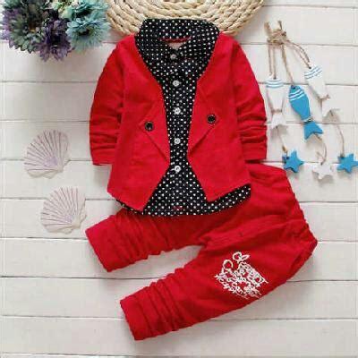Jual Celana Baby Keren setelan baju anak laki laki keren warna merah