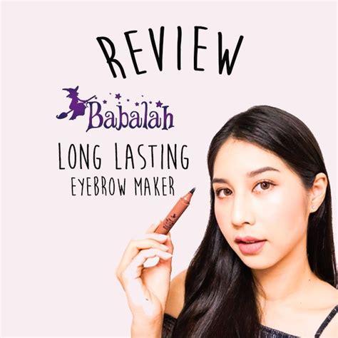 3ce long wear tattoo eyebrow maker review babalah long lasting tattoo eyebrow maker เมจ ก