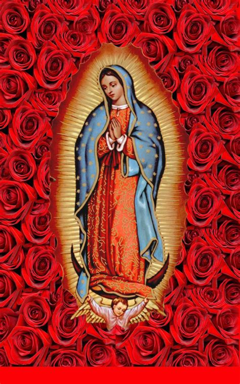 free wallpaper virgen guadalupe iphone background guadalupe mania pinterest
