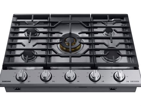 chef ovens and cooktops 36 quot gas chef collection cooktop with 22k btu dual power