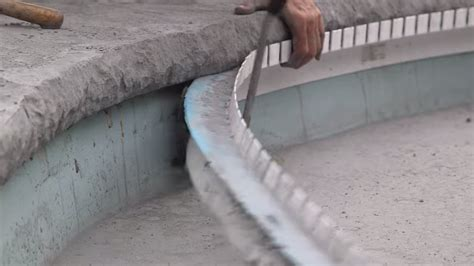 Styrofoam Concrete Countertop Forms by Concrete Countertop Solutions Announces New Pool Coping