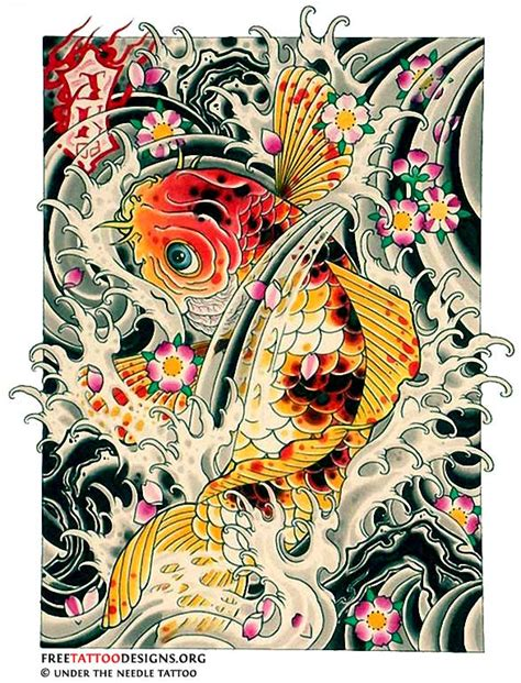 tattoo art koi fish koi fish tattoo design nice interesting tattoos