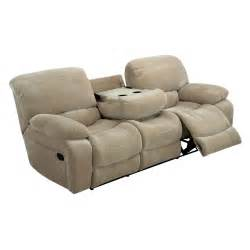 Global furniture u2007 reclining sofa with drop down table froth at