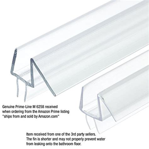 Frameless Shower Door Bottom Seal Prime Line M 6258 Frameless Shower Door Bottom Seal Stop Shower Leaks And Create A Water